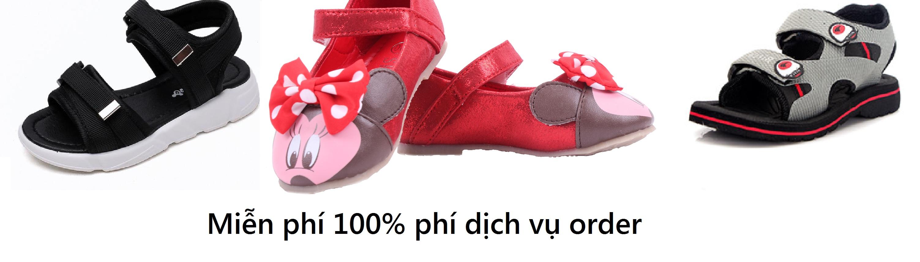 Order giày dép cho bé mùa tựu trường