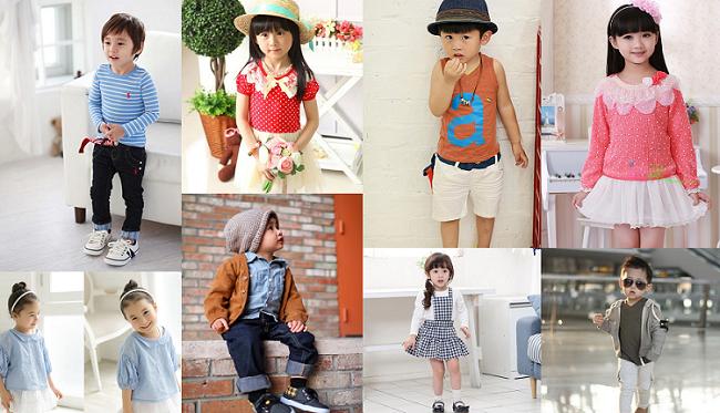 Đặt hàng quần áo trẻ em – bạn muốn thử sức