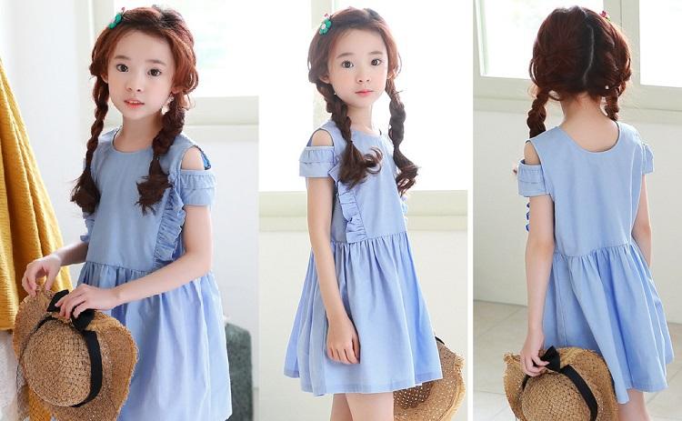 Order váy thu đông Quảng Châu cho bé