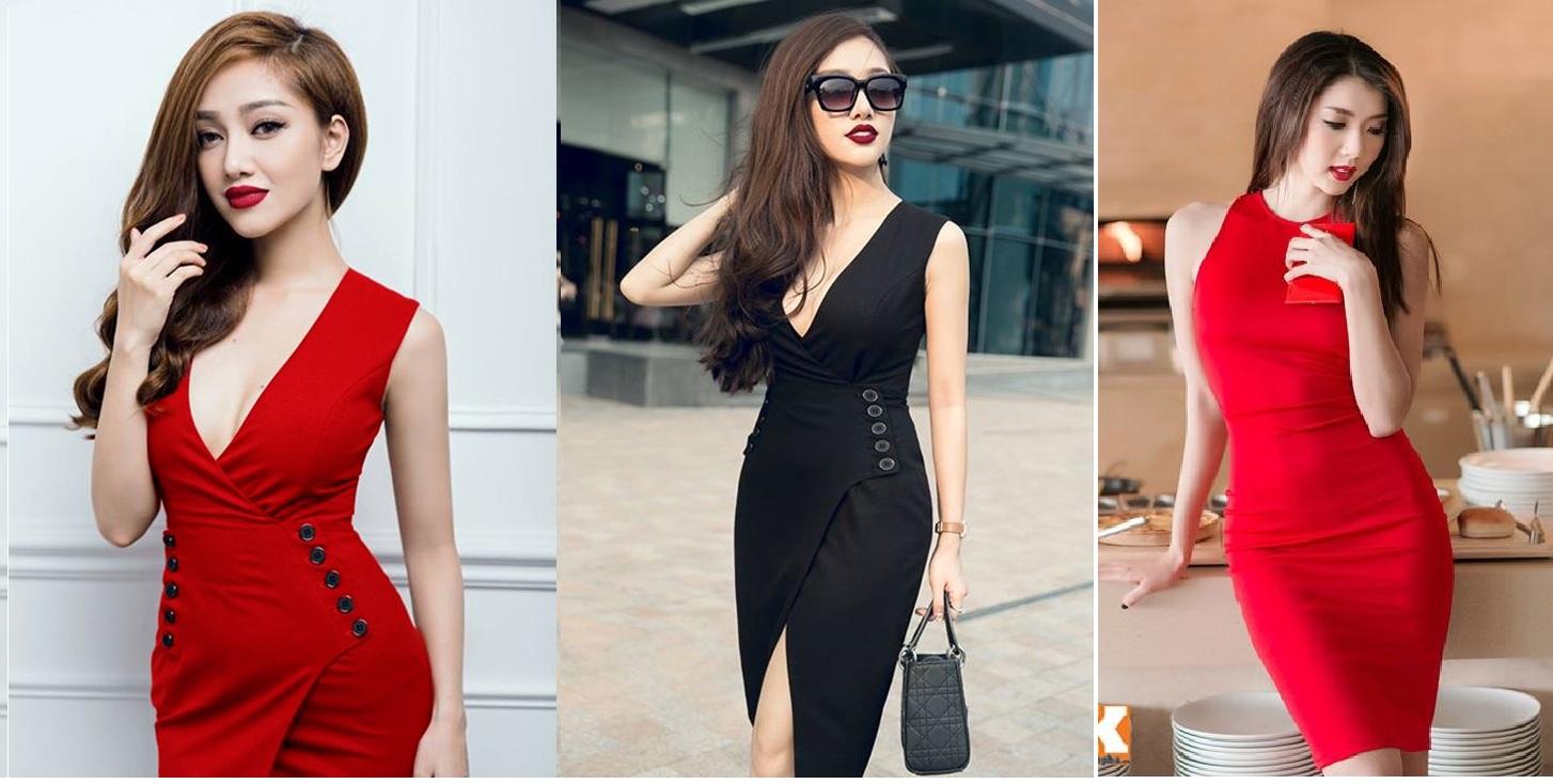 Nguồn hàng đầm giá sỉ hotgirl Quảng Châu mẫu mã đẹp