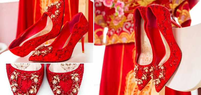 Giày đỏ cho cả năm may mắn