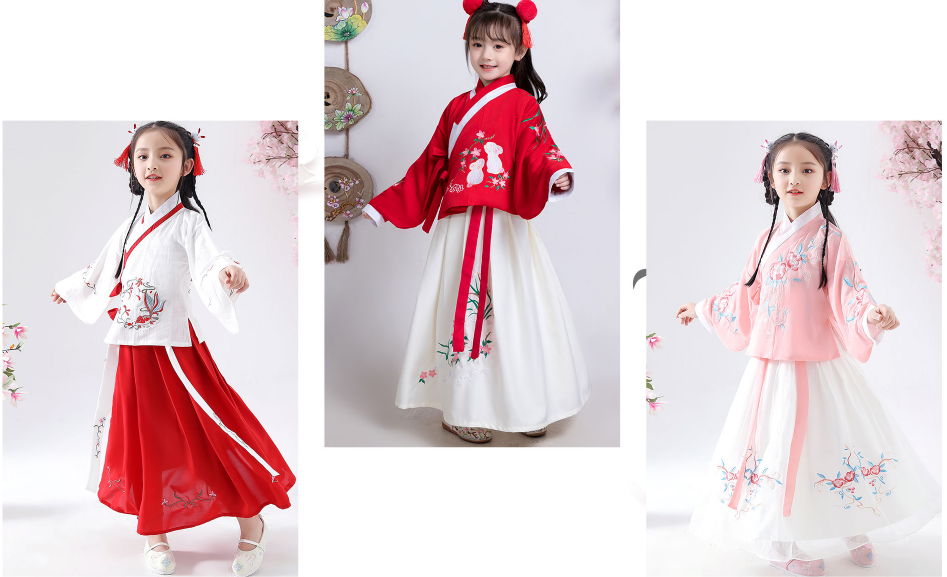 Order Hán phục cho bé gái chỉ từ 60k