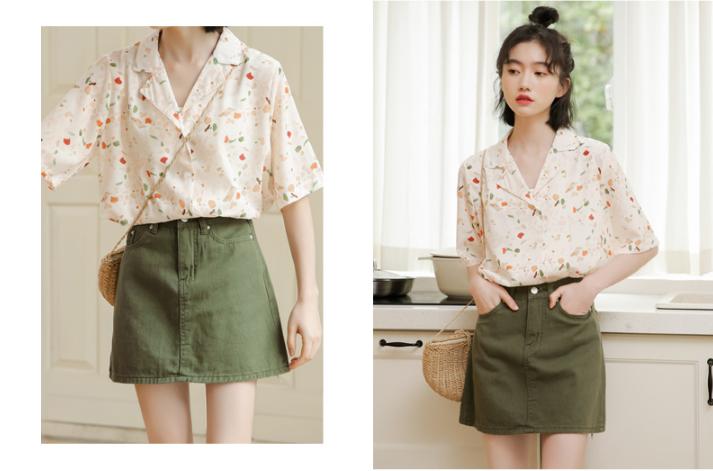 10 Mẫu áo họa tiết xinh đẹp cho mùa hè năng động