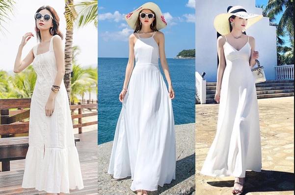 Order váy maxi đi biển chỉ với 200k