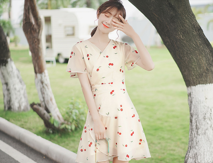Order váy quấn – Mẫu váy hot nhất hè 2019