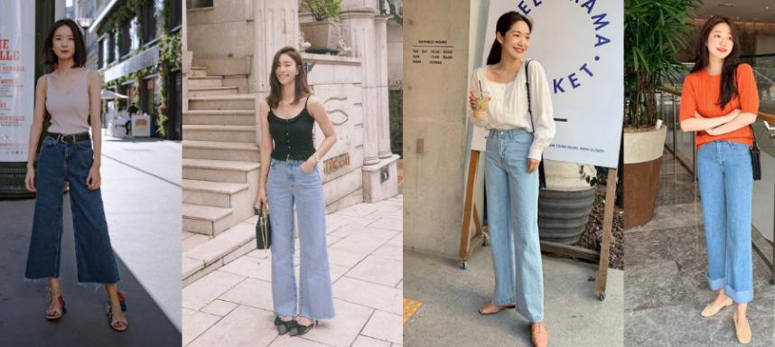 Những kiểu quần jean mát mẻ cho ngày hè nóng bức