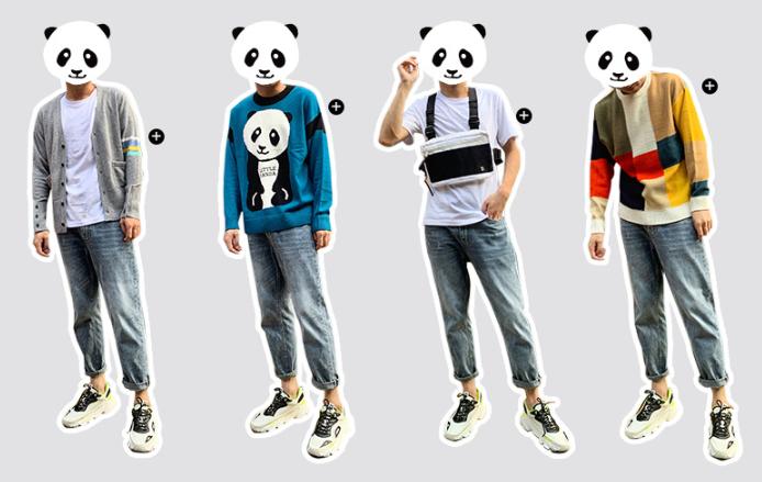 Order quần jean cho sinh viên nam nhập học giá chỉ từ 18 tệ