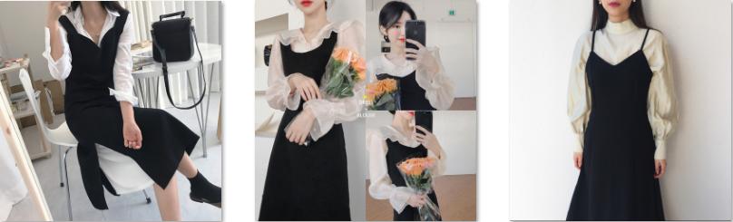 Váy yếm thu đông chắc chắn bán chạy 2019