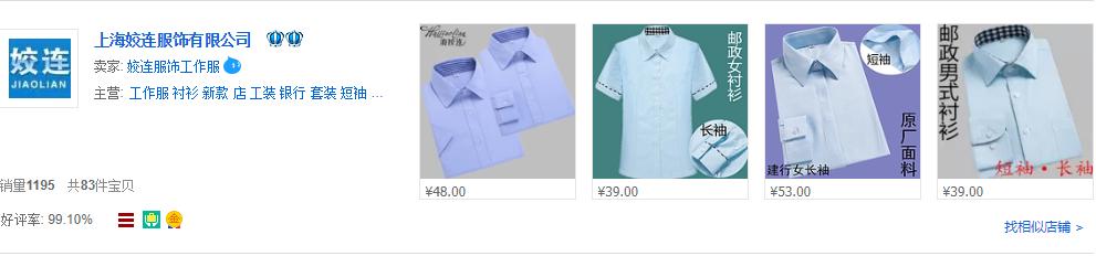 Danh sách Taobao shop quần áo nam nữ