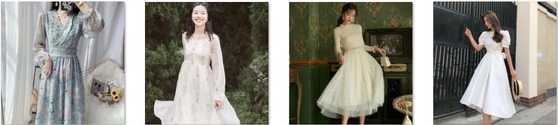 Váy voan xinh yêu tặng bạn gái ngày 20-10