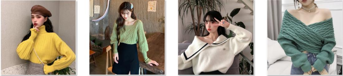 Áo len siêu xinh của hotgirl Tiktok
