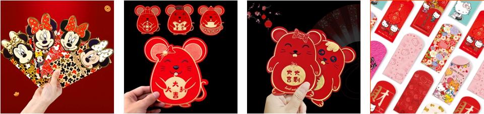 Phong bao lì xì đang hot trên Taobao