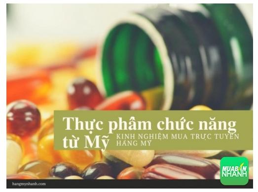 Kinh nghiệm mua thực phẩm chức năng từ Mỹ trực tuyến ở Việt Nam