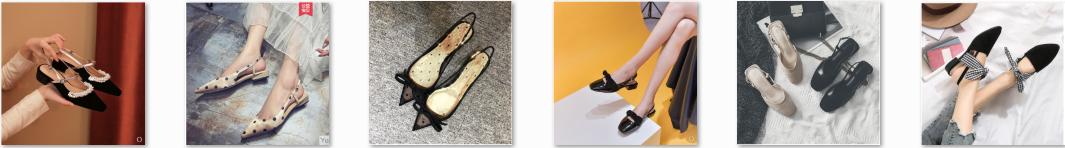 14 mẫu giày bít mũi - Slingback hot nhất Taobao