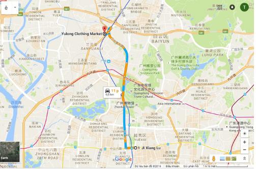 Cách đi mua hàng Quảng Châu Trung Quốc bằng tàu điện ngầm