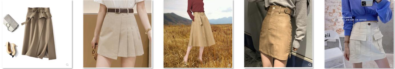 """Chân váy kaki: Thiết kế """"con cưng"""" của mùa Thu"""