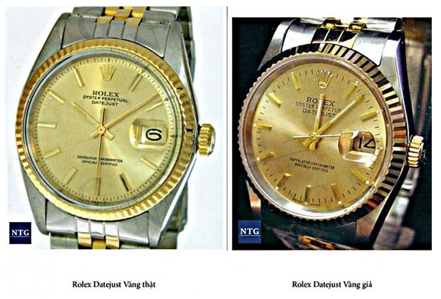 Cách phân biệt đồng hồ chính hãng và fake