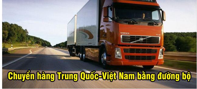 Chuyển hàng Trung Quốc-Việt Nam bằng đường bộ