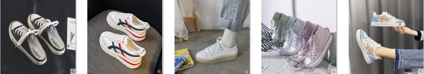 Những mẫu giày vải nữ đẹp, được ưa chuộng nhất 2020
