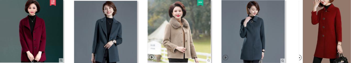 Những kiểu áo khoác dạ cho phụ nữ trung niên