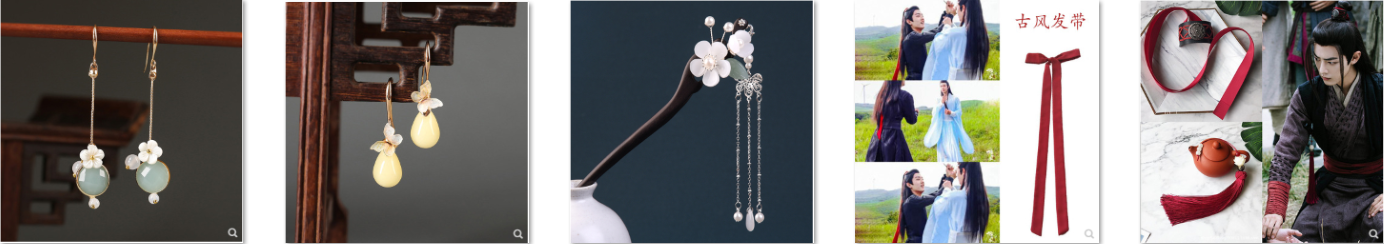 Cách nhập trang sức cổ trang Trung Quốc hiệu quả nhất