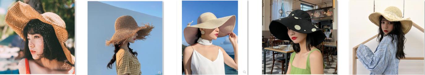 Link shop cung cấp nón nữ rộng vành dễ thương, giá rẻ